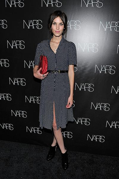 At a Nars cosmetics Book launch last May