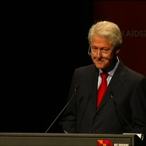 "Clinton: ""AIDS-Free Generation Within Our Reach"""