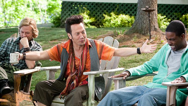 Grown Ups Columbia Pictures 2010 David Spade Rob Schneider Chris Rock
