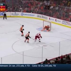 Ray Emery Save on Joakim Andersson (12:51/1st)