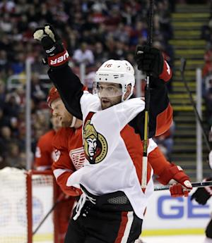 Senators outlast Red Wings 4-2