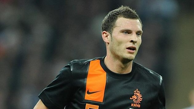 Holland left-back Erik Pieters signs for Stoke (PA Photos)