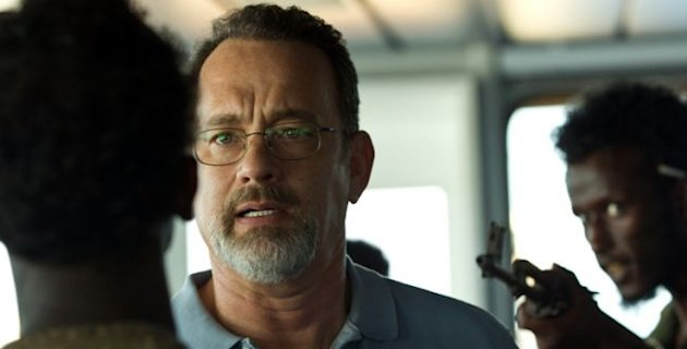 Tom Hanks en su papel de Captain Phillips.