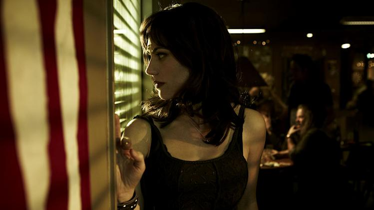 "Maggie Siff stars as Tara Knowlesin in ""Sons Of Anarchy."""