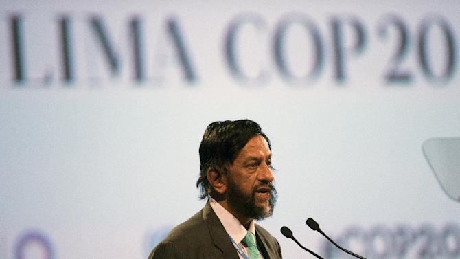 Former UN climate panel chief Rajendra Pachauri has been given a new top post at his Indian think-tank