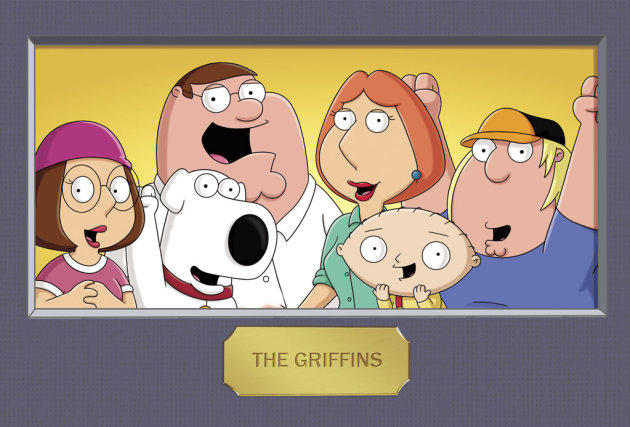 The Griffins on &quot;Family Guy.&quot; 