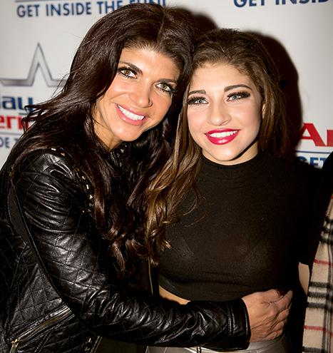 "Gia Giudice Says Mom Teresa Is Doing ""Amazing"" in Prison, Can Talk Daily"