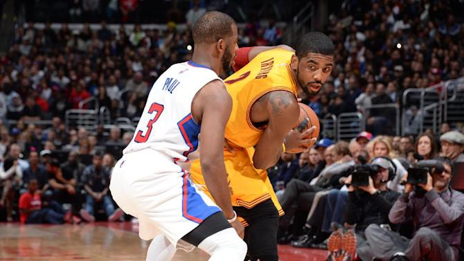 Irving scores 37, Cavaliers hold on to beat Clippers 126-121