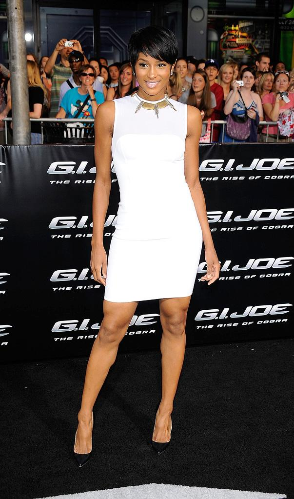 GI Joe Rise of the Cobra LA Premiere 2009 Ciara