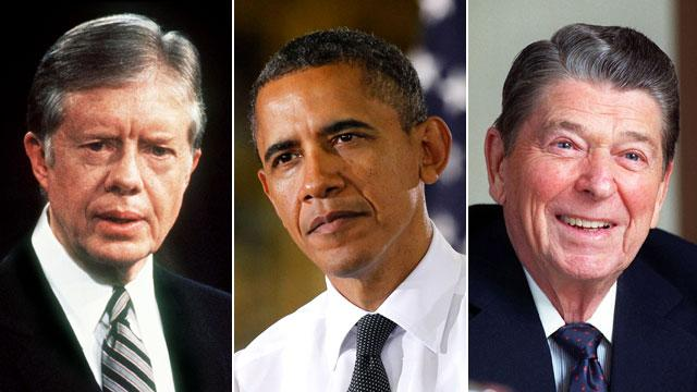 Where Were They Now? A Look at Presidents' Re-Election Polling in Late Spring