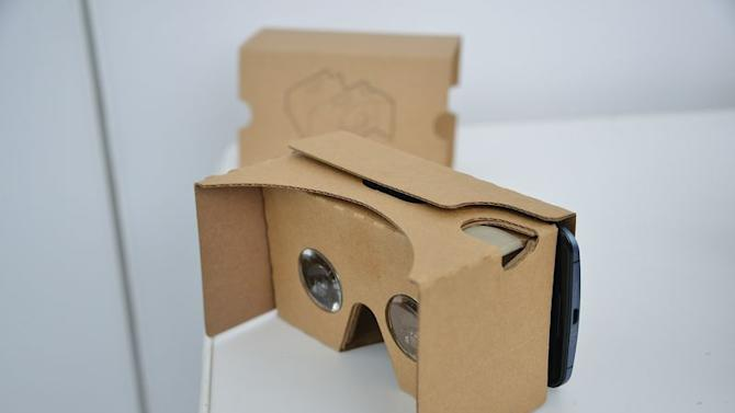 I just tried Google's new Cardboard with my iPhone
