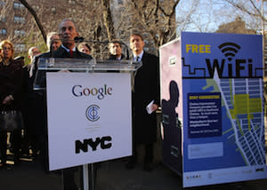 Google Providing Free Wi-Fi for Neighborhood Surrounding Its NYC Headquarters