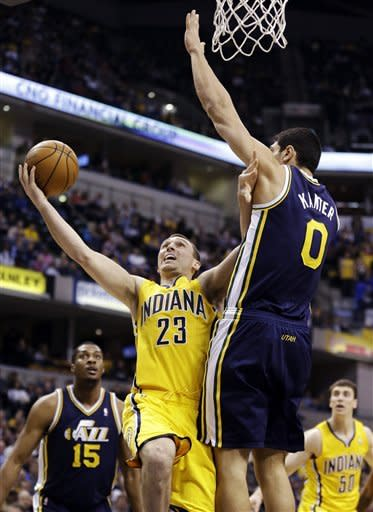 Green scores 21 to lead Pacers past Jazz 104-84