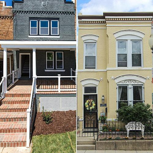 Real Estate Deathmatch: Which of These Renovated Row Houses Would You Buy?