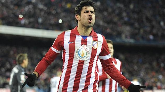 Diego Costa of Atletico Madrid