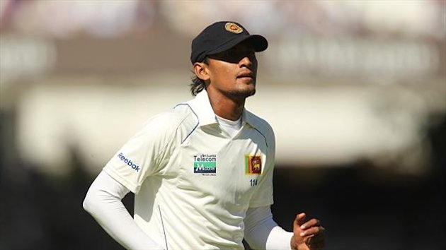 Suranga Lakmal claimed three wickets to help Sri Lanka to victory