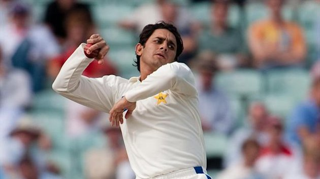 Saeed Ajmal struck twice in the afternoon session