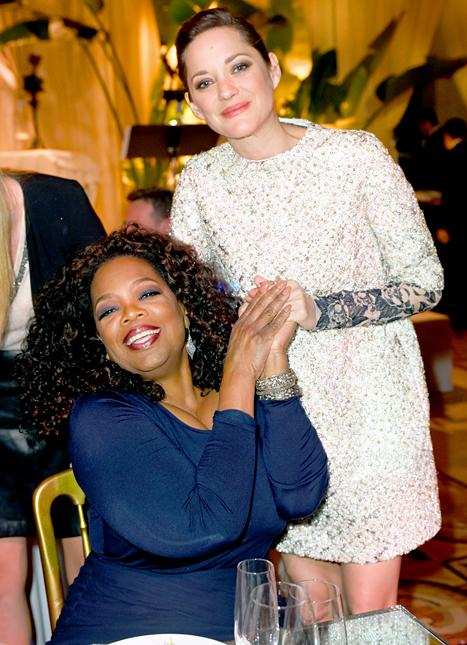 Celeb Sightings: Oprah Winfrey and Marion Cotillard Celebrate the Oscars!