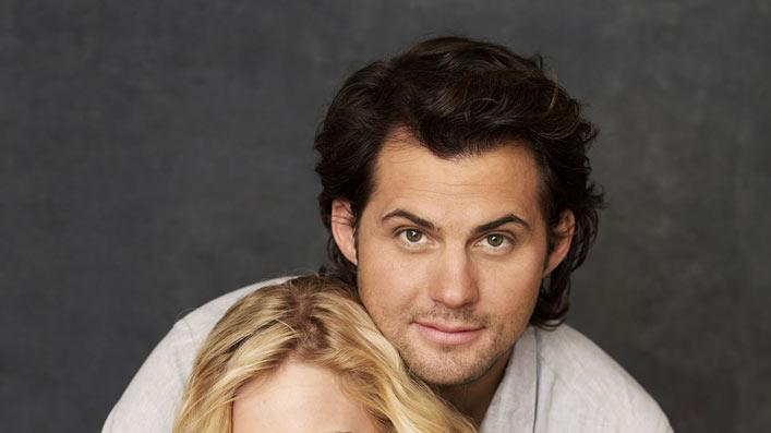 "Kristoffer Polaha stars as Baze, Britt Robertson stars as Lux, and Shiri Appleby stars as Cate on ""Life Unexpected."""