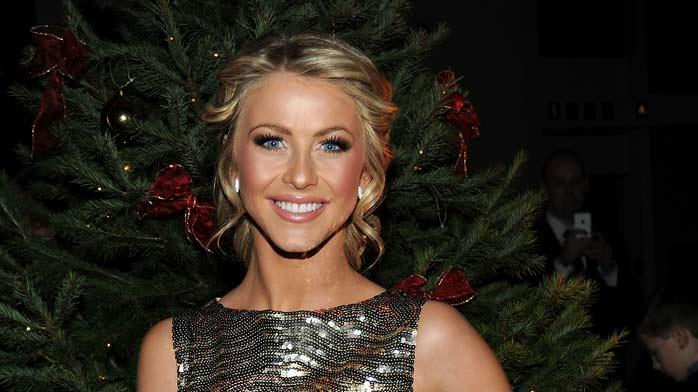 "Julianne Hough poses backstage during TNT's ""Christmas in Washington 2008"" at the National Building Museum on December 14, 2008 in Washington, DC."