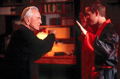 Kirk Douglas and Corbin Allred in Miramax's Diamonds