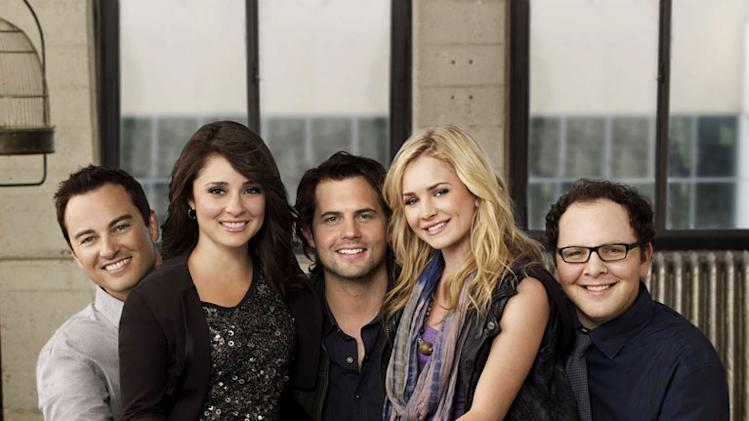 "The cast of ""Life Unexpected."""