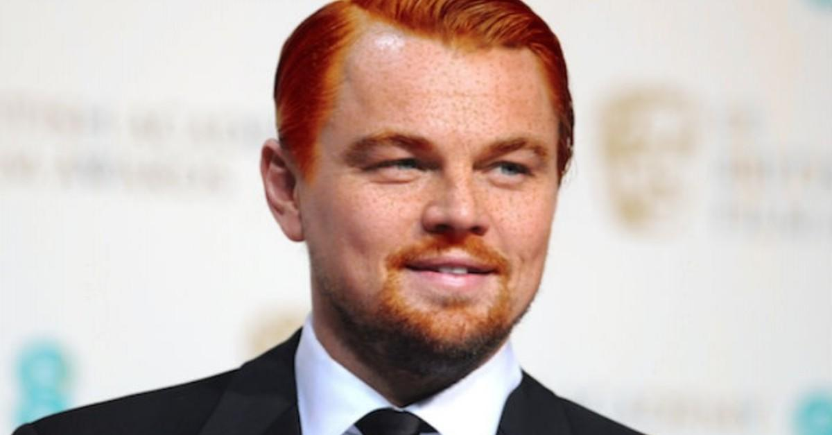 18 Unsettling Photos Of Celebs Turned Into Gingers