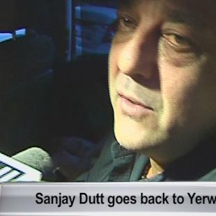 Sanjay Dutt goes back to Yerwada Jail