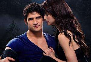 Tyler Posey and Crystal Reed | Photo Credits: Bob Mahoney/MTV