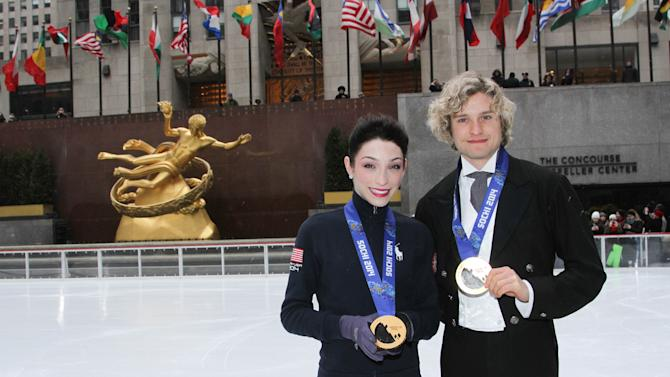 Meryl Davis And Charlie White New York City Ice Dancing Performance