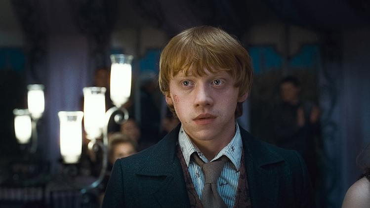 Harry Potter Actors through the years Harry Potter and the Deathly Hallows pt 1 2010 Rupert Grint