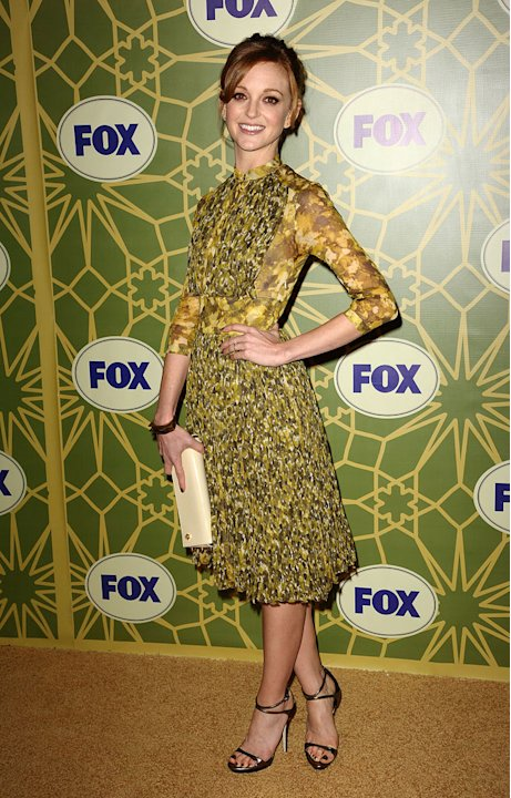 "Jayma Mays (""Glee"") attends the 2012 Fox Winter TCA All-Star Party at Castle Green on January 8, 2012 in Pasadena, California."