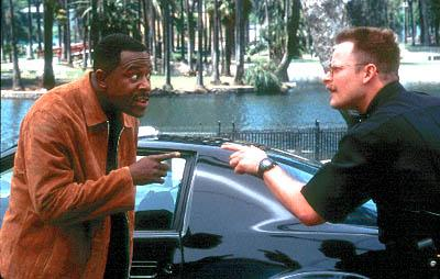 Martin Lawrence and Steve Zahn in Columbia's National Security