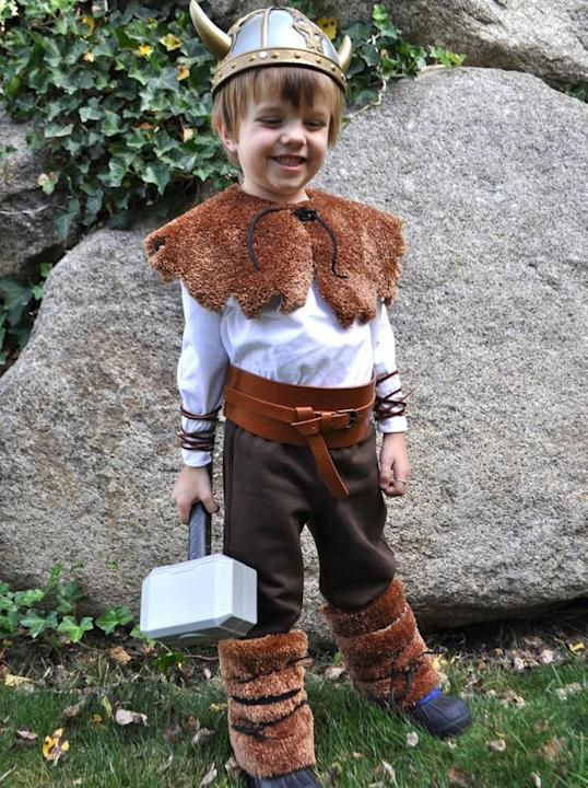 Easy Viking Costume