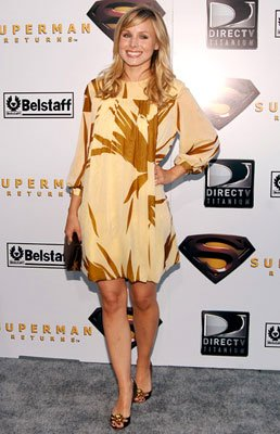 Kristen Bell at the Westwood premiere of Warner Bros. Pictures' Superman Returns