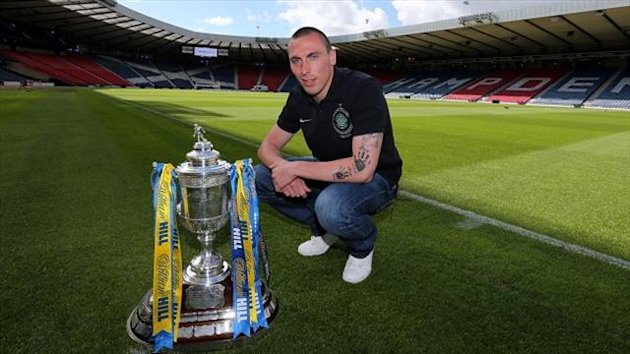 Scott Brown hopes to prolong Hibs' wait for Scottish Cup glory