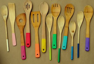 Painted Spoons