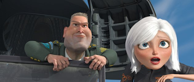 Monsters vs Aliens Production Photos 2009 DreamWorks