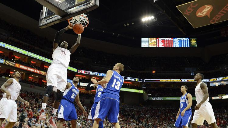 NCAA Basketball: Seton Hall at Louisville
