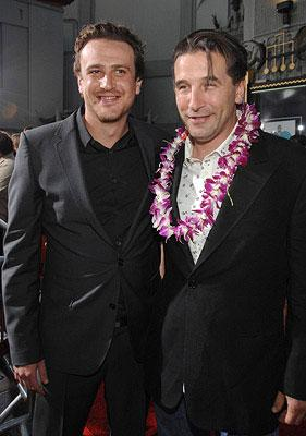 Jason Segel and William Baldwin at the Los Angeles premiere of Universal Pictures' Forgetting Sarah Marshall
