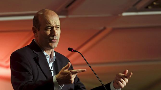 File photo of Sturzenegger speaking during a Reuters Forum in Buenos Aires