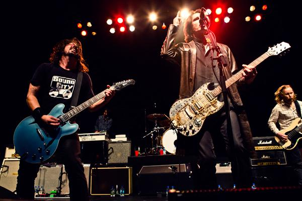 Dave Grohl's Sound City Players Throw Three-Hour Bash in L.A