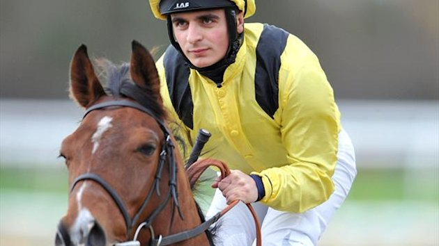Jockey Andrea Atzeni and Farraaj