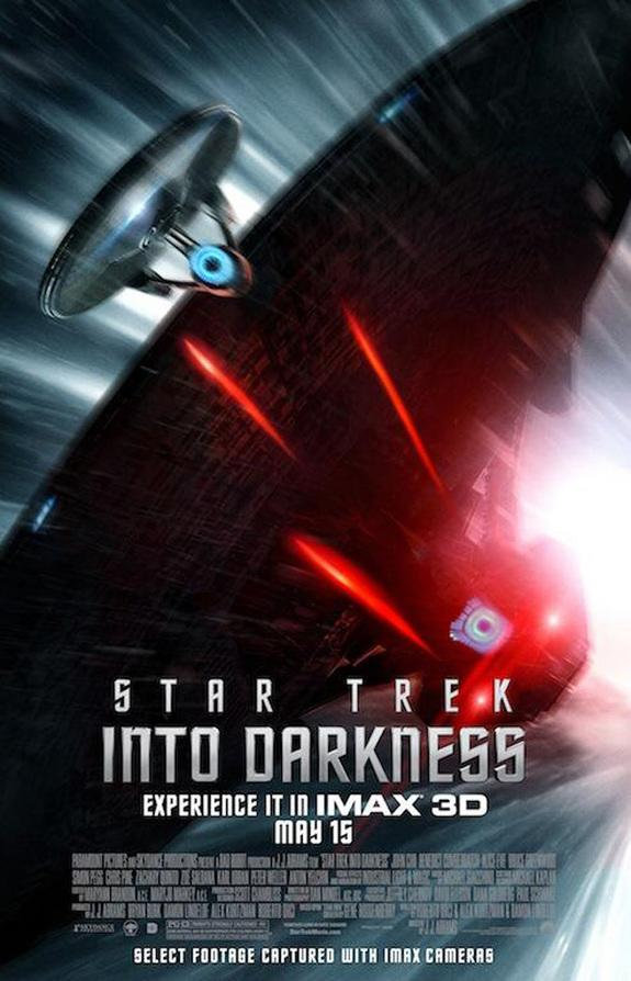 NASA Beams Up 'Star Trek Into Darkness' to Astronauts In Space
