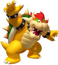 Mario&#39;s nemesis Bowser landed the top spot with more than 20% of the vote - narrowly beating sci fi puzzle game Portal&#39;s sinister GLaDOS robot.