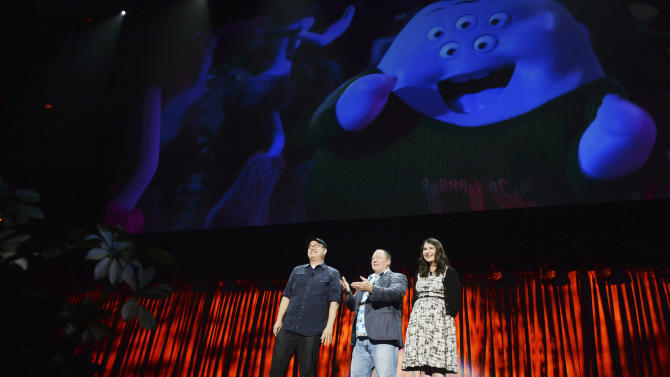 """Disney teases 'Nemo"""" sequel, other films at expo"""
