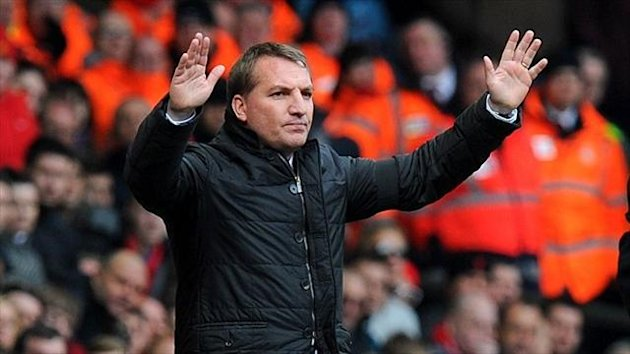 Brendan Rodgers admits he needs more depth in his Liverpool squad