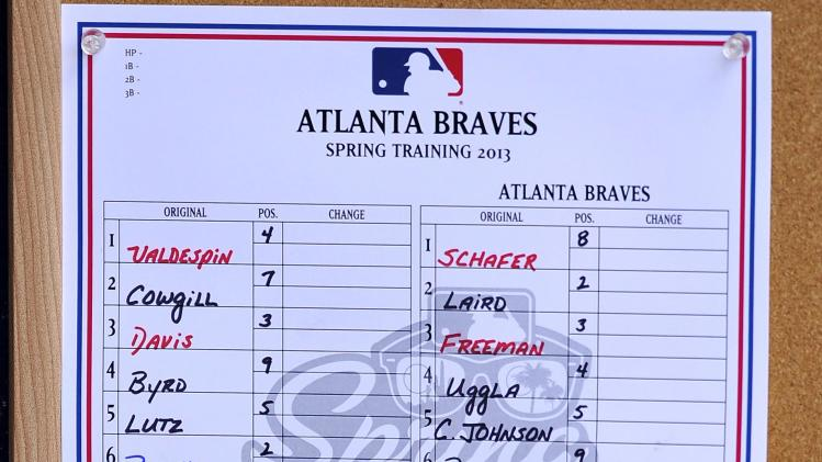 MLB: Spring Training-Atlanta Braves at New York Mets