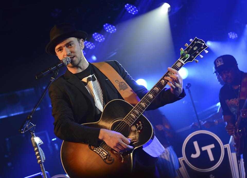 Justin Timberlake performs at Myspace Secret Show @ SXSW