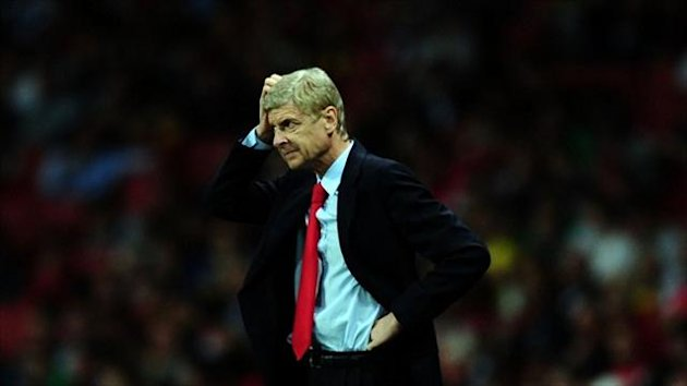 Arsene Wenger criticised Arsenal's defending